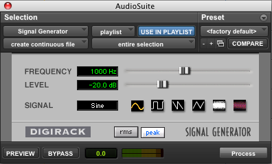 Audio Metering for Pro Tools & post sound Part 2 – Pro Tools