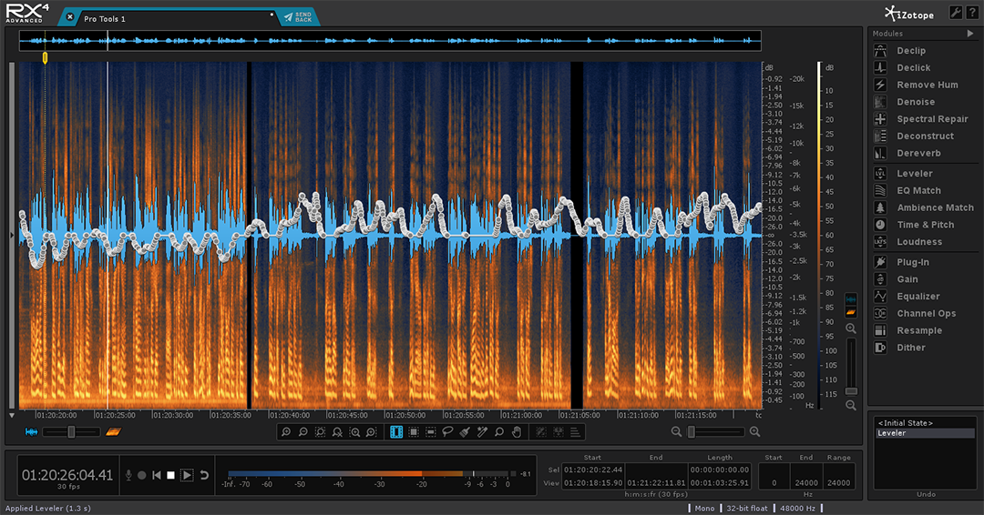 iZotope RX 4 Advanced: tying stand-alone app into Pro Tools